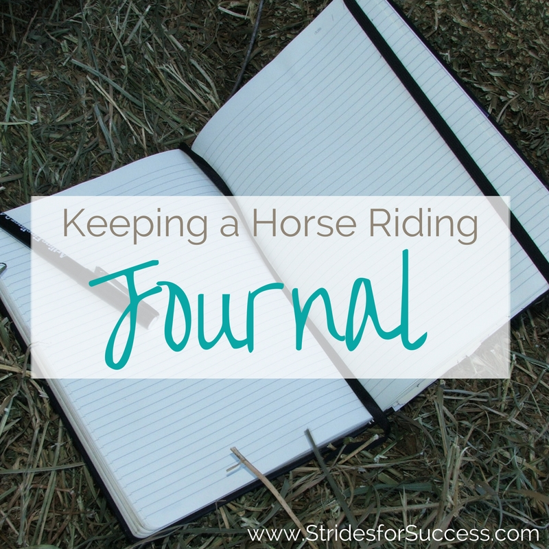 Keeping a Horse Riding Journal