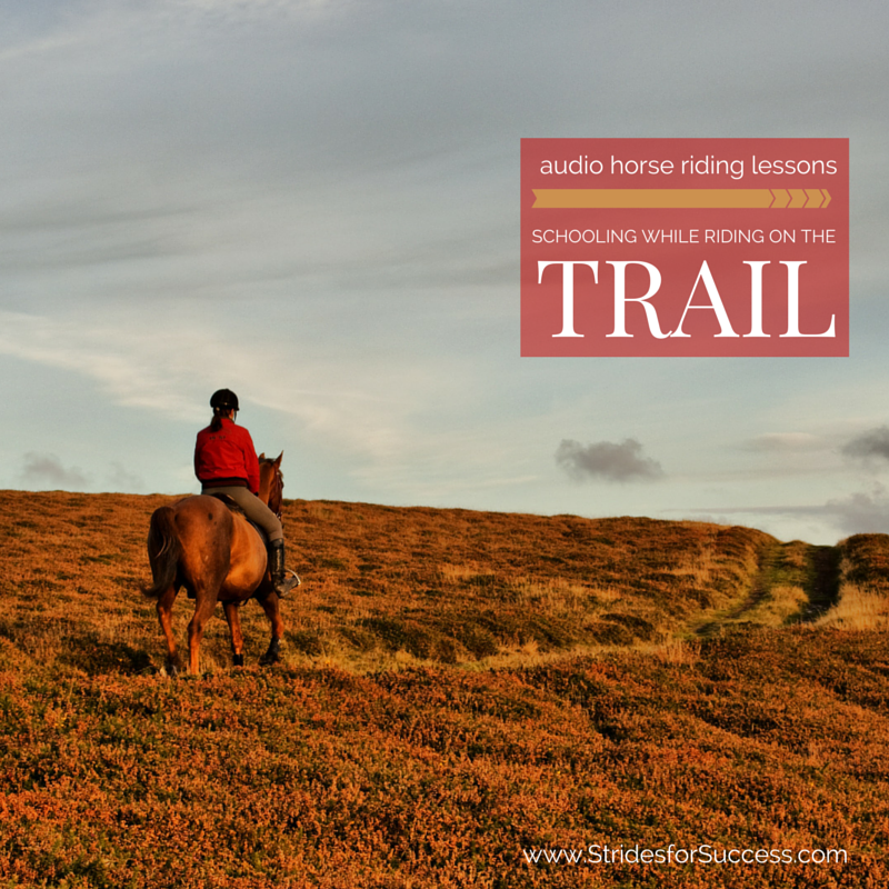 Schooling Your Horse on the Trail