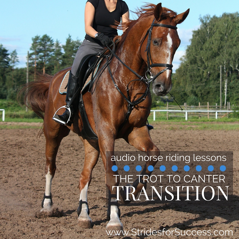 The Trot to Canter Transition