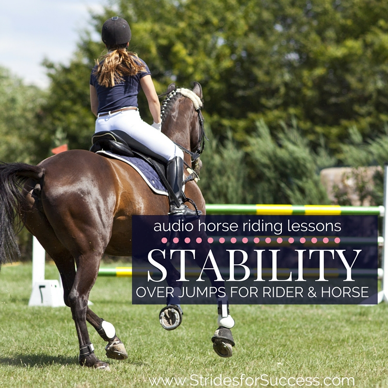 Stability Over Jumps for Rider & Horse