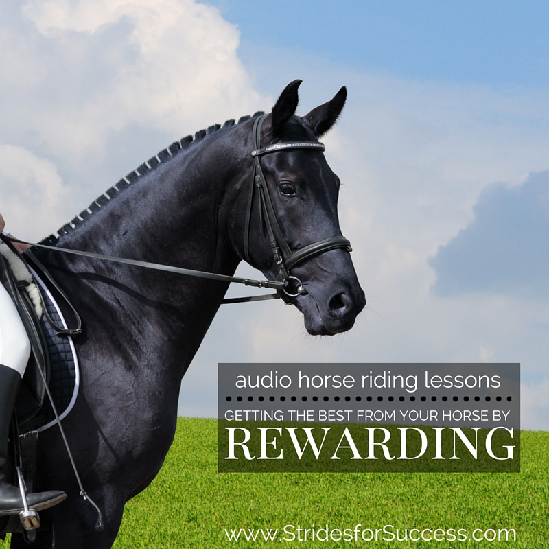Rewarding Your Horse While Riding