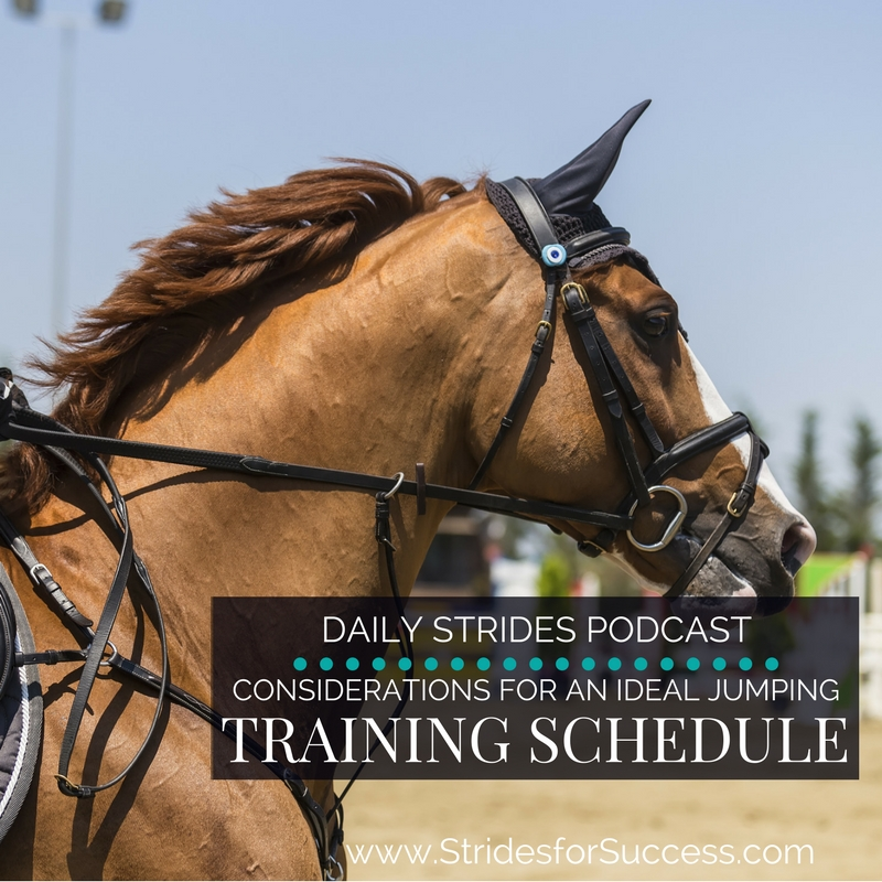 Considerations for an Ideal Jumping Training Schedule