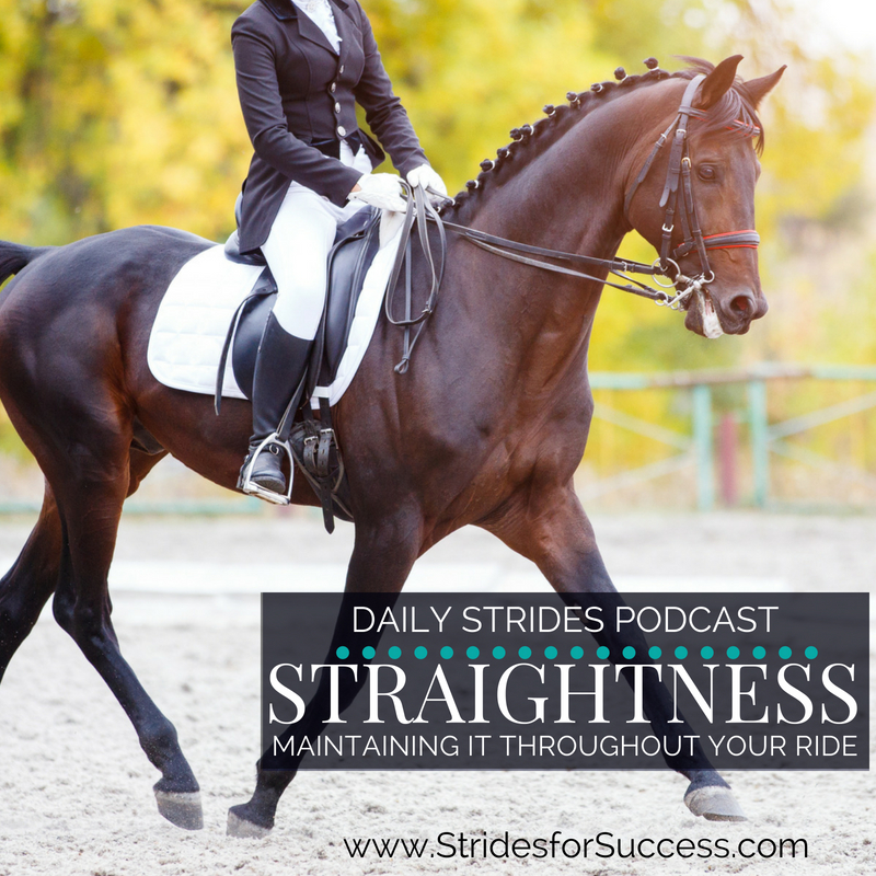 Maintaining Straightness Throughout the Ride